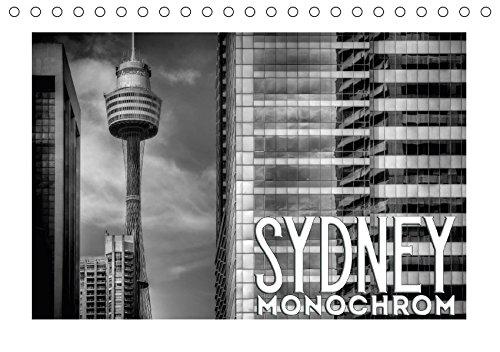 9783665321413: SYDNEY Monochrom (Tischkalender 2017 DIN A5 quer): Urbane australische Küstenstadt (Monatskalender, 14 Seiten )