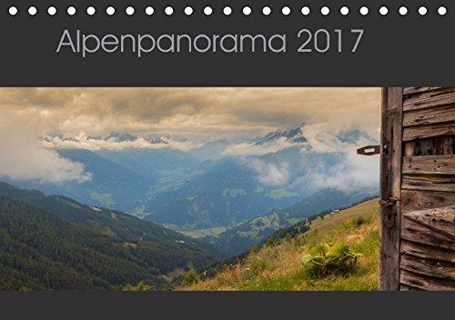 9783665328856: Alpenpanorama 2017 (Tischkalender 2017 DIN A5 quer): Osttirol Impressionen (Monatskalender, 14 Seiten )