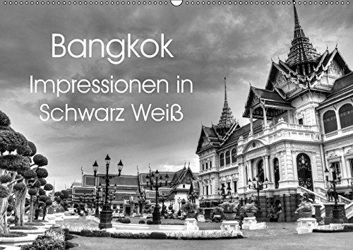 9783665333591: Bangkok Impressionen in Schwarz Weiß (Wandkalender 2017 DIN A2 quer): Eindrücke aus der Hauptstadt von Thailand (Monatskalender, 14 Seiten )