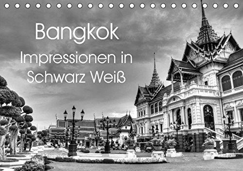 9783665333607: Bangkok Impressionen in Schwarz Weiß (Tischkalender 2017 DIN A5 quer): Eindrücke aus der Hauptstadt von Thailand (Monatskalender, 14 Seiten )