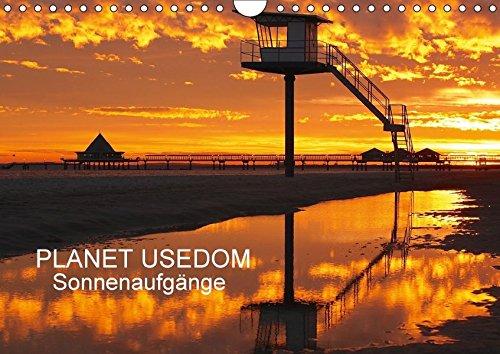 9783665335137: PLANET USEDOM Sonnenaufgänge (Wandkalender 2017 DIN A4 quer): Ein Kalender mit fantastischen Sonnenaufgängen auf Usedom (Monatskalender, 14 Seiten )