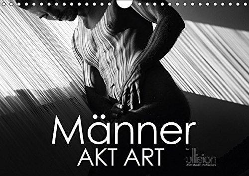9783665341800: Männer AKT Art (Wandkalender 2017 DIN A4 quer): Stilvolle Männer - Akte in ästhetischer Abstraktion aus Linien und Körpern (Monatskalender, 14 Seiten )