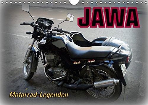 9783665342708: Motorrad-Legenden: JAWA (Wandkalender 2017 DIN A4 quer): Motorräder der tschechischen Traditionsmarke JAWA auf Kuba (Monatskalender, 14 Seiten )