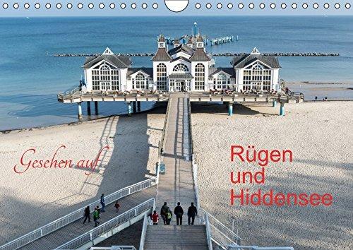 9783665356378: Gesehen auf - Rügen und Hiddensee (Wandkalender 2017 DIN A4 quer): Entdeckungen auf Rügen (Monatskalender, 14 Seiten )