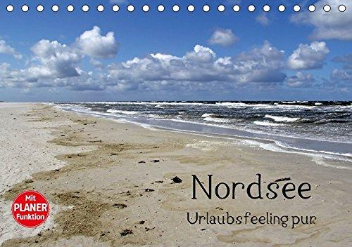 9783665359140: Nordsee / Urlaubsfeeling pur (Tischkalender 2017 DIN A5 quer): Traumhafte Bilder von der Nordseeküste in Schleswig Holstein. (Geburtstagskalender, 14 Seiten )