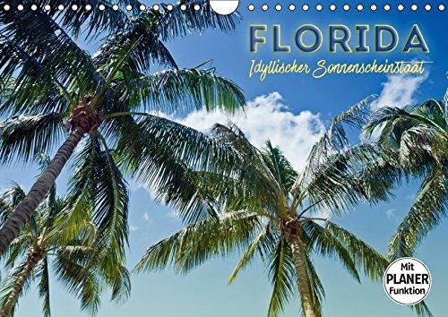 9783665359539: FLORIDA Idyllischer Sonnenscheinstaat (Wandkalender 2017 DIN A4 quer): Sonne, Strand, Palmen und ruhige Orte (Geburtstagskalender, 14 Seiten )