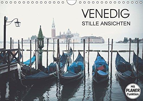 9783665361501: Venedig - Stille Ansichten (Wandkalender 2017 DIN A4 quer): Fotografien von stillen Orten und Momenten in Venedig (Geburtstagskalender, 14 Seiten )