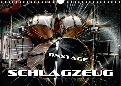 9783665375416: Schlagzeug onstage (Wandkalender 2017 DIN A4 quer): Eindrucksvolle Konzertaufnahmen und Closeups von verschiedenen Schlagzeugen (Monatskalender, 14 Seiten ) (CALVENDO Kunst)