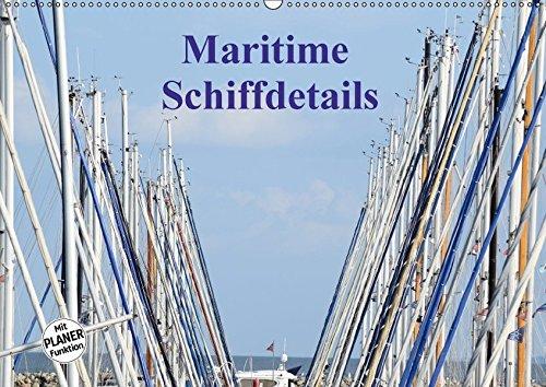 9783665382049 - Martina Busch: Maritime Schiffdetails (Wandkalender 2017 DIN A2 quer): Der Zauber von Schiffen steckt im Detail (Geburtstagskalender, 14 Seiten ) - Bok