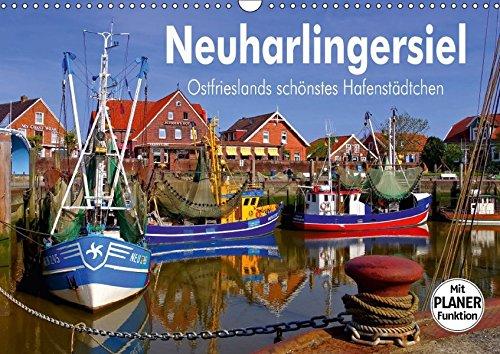 9783665382384 - LianeM: Neuharlingersiel - Ostfrieslands schönstes Hafenstädtchen (Wandkalender 2017 DIN A3 quer): Eine Bilderreise durch das Nordseeheilbad Neuharlingersiel (Geburtstagskalender, 14 Seiten ) - Bok