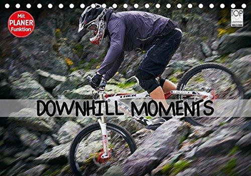 9783665392659: Downhill Moments (Tischkalender 2017 DIN A5 quer): Downhill...Bergabfahrt extrem (Geburtstagskalender, 14 Seiten )