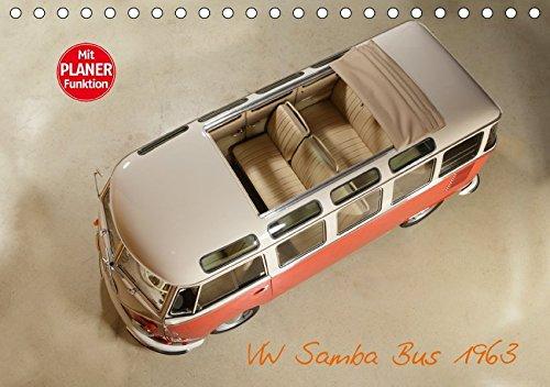 9783665393045: VW Samba Bus 1963 (Tischkalender 2017 DIN A5 quer): Der Kultbus! (Geburtstagskalender, 14 Seiten )