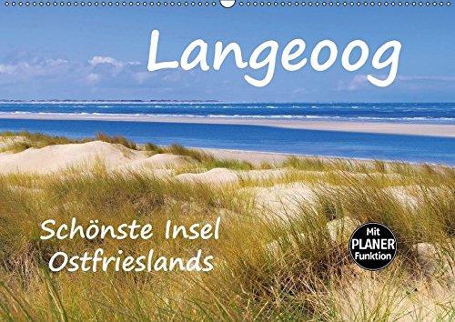 9783665395520: Langeoog - Schönste Insel Ostfrieslands (Wandkalender 2017 DIN A2 quer): Impressionen der Nordseeinsel Langeoog (Geburtstagskalender, 14 Seiten )