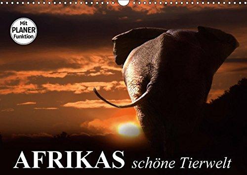 9783665410803: Afrikas schöne Tierwelt (Wandkalender 2017 DIN A3 quer): Die vielfältige Tierwelt Afrikas ganz nah bestaunen (Geburtstagskalender, 14 Seiten )