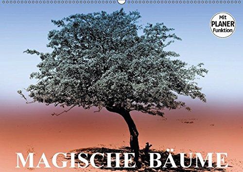 9783665411367: Magische Bäume (Wandkalender 2017 DIN A2 quer): Bäume als magischer Blickfang in der Natur (Geburtstagskalender, 14 Seiten )