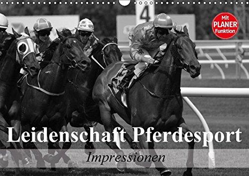 9783665411435: Leidenschaft Pferdesport - Impressionen (Wandkalender 2017 DIN A3 quer): Mit Freude am Pferdesport durch das Leben (Geburtstagskalender, 14 Seiten )