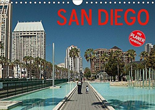 9783665413507: San Diego (Wandkalender 2017 DIN A4 quer): Stimmungsvolle Bilder aus der achtgrößten Stadt der Vereinigten Staaten (Geburtstagskalender, 14 Seiten )