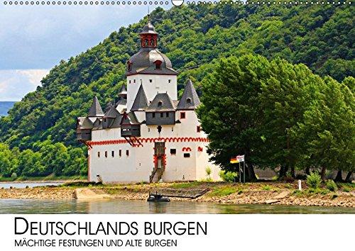 9783665416164: Deutschlands Burgen - mächtige Festungen und alte Burgen (Wandkalender 2017 DIN A2 quer): Eine Reise zu den eindrucksvollen Festungen und alten Burgen ... (Teil III) (Monatskalender, 14 Seiten )