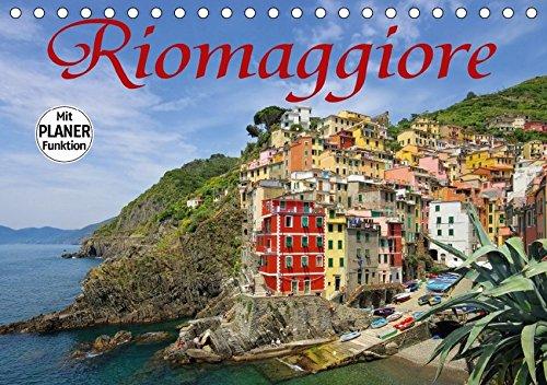 9783665439071: Riomaggiore (Tischkalender 2017 DIN A5 quer): Riomaggiore - ein typisches Dorf der Cinque Terre (Geburtstagskalender, 14 Seiten )