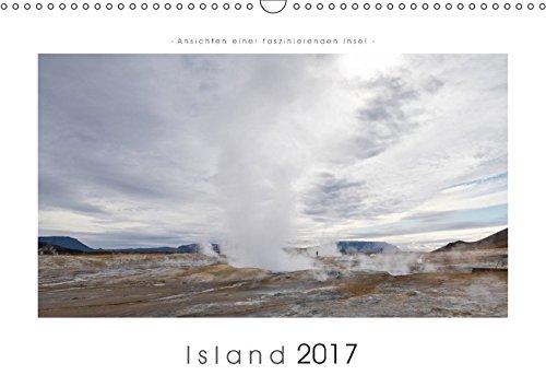 9783665443252: Island - Ansichten einer faszinierenden Insel (Wandkalender 2017 DIN A3 quer): Die Vielfalt Islands in 12 Bildern (Monatskalender, 14 Seiten )