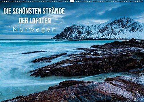 9783665455934: Die schönsten Strände der Lofoten - Norwegen (Wandkalender 2017 DIN A2 quer): Landschaften, Küsten und Strände in Norwegen (Monatskalender, 14 Seiten )