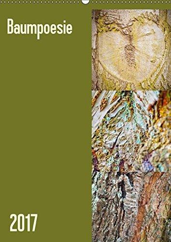 9783665459161: Baumpoesie (Wandkalender 2017 DIN A2 hoch): 12 wunderschöne Monate (Monatskalender, 14 Seiten )