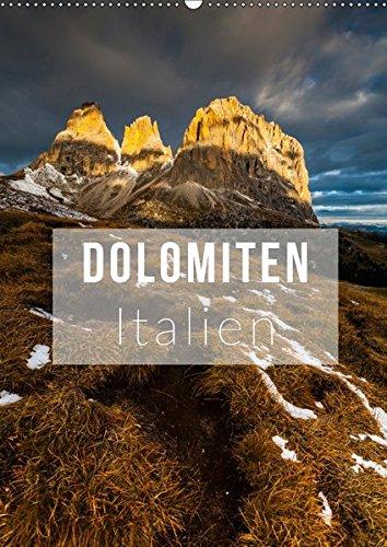 9783665460686: Dolomiten. Italien (Wandkalender 2017 DIN A2 hoch): Die herrlichsten Ansichten der Dolomiten (Monatskalender, 14 Seiten )