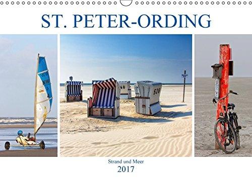 9783665464813: ST. PETER ORDING Strand und Meer (Wandkalender 2017 DIN A3 quer): Impressionen von der Halbinsel Eiderstedt (Monatskalender, 14 Seiten )