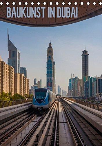 9783665467586: Baukunst in Dubai (Tischkalender 2017 DIN A5 hoch): Faszinierende Gebäude aus der schillernden Wüstenmetropole. (Monatskalender, 14 Seiten )