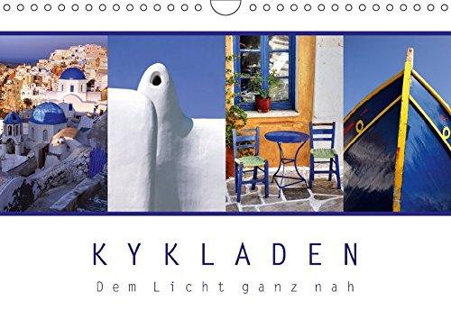 9783665485870: KYKLADEN Dem Licht ganz nah (Wandkalender 2017 DIN A4 quer): Impressionen von den griechischen Inseln (Monatskalender, 14 Seiten )