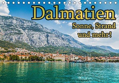 9783665505707: Dalmatien - Sonne, Strand und mehr (Tischkalender 2017 DIN A5 quer): Dalmatiens schönste Seiten (Geburtstagskalender, 14 Seiten )