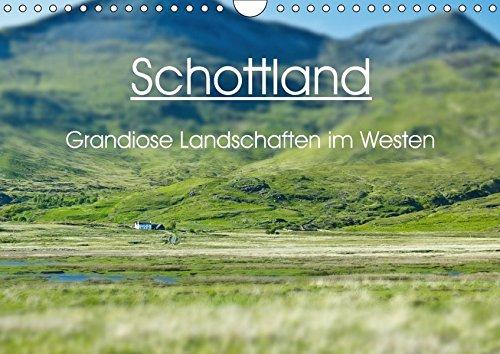 9783665515256 - Anja Schäfer: Schottland - grandiose Landschaften im Westen (Wandkalender 2017 DIN A4 quer): Wunderbare Highlands und Hebriden-Inseln (Monatskalender, 14 Seiten ) - Buch