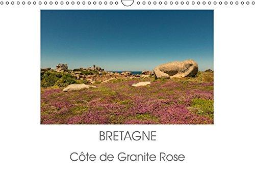 9783665515744 - Bretagne - Côte de Granite Rose (Wandkalender 2017 DIN A3 quer) - Buch