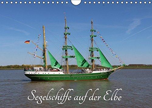 9783665583989 - Eckhard K. Schulz: Segelschiffe auf der Elbe (Wandkalender 2017 DIN A4 quer): Große Segelschiffe und Segelboote (Monatskalender, 14 Seiten ) - Buch