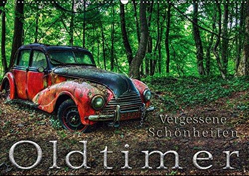 9783665725945 - Heribert Adams: Oldtimer - Vergessene Schönheiten (Wandkalender 2018 DIN A2 quer): Fotografien abgesteller Oldtimern, zum Teil Detailaufnahmen (Monatskalender, 14 Seiten ) - Book