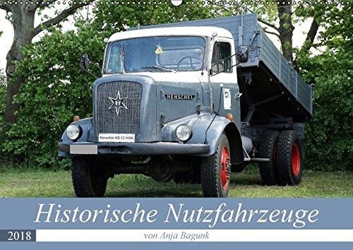 Historische Nutzfahrzeuge (Wandkalender 2018 DIN A2 quer): Eine tolle abwechslungsreiche Darbietung verschiedenster historischer Nutzfahrzeuge (Monatskalender, 14 Seiten ) - Anja Bagunk