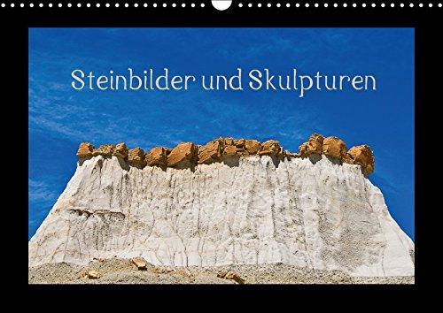 Steinbilder und Skupturen (Wandkalender 2018 DIN A3: Rolf Dietz