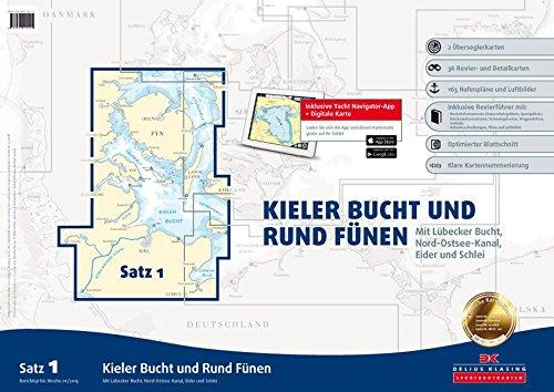 9783667100115: Sportbootkartensatz Satz 01: Kieler Bucht und Rund Fünen (Ausgabe 2015): Mit Lübecker Bucht, Nord-Ostsee-Kanal, Eider und Schlei