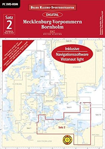 9783667101921: Satz 2: Mecklenburg-Vorpommern ? Bornholm (DVD-ROM, Ausgabe 2015): Mit L�becker Bucht und Stettiner Haff