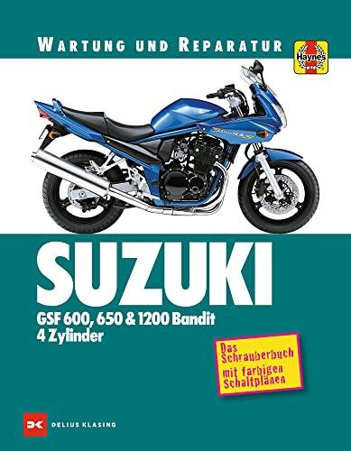 9783667110206: Suzuki GSF 600, 650 & 1200 Bandit - 4 Zylinder