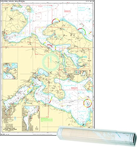 , Einzelkarte Flensburger Förde - Als Sund - Abenra Fjord Flensburg Fjord West (Ausgabe 2021)
