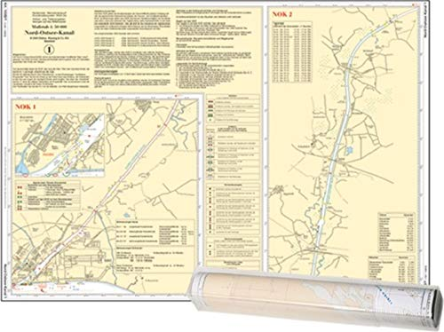 , Einzelkarte Nord-Ostsee-Kanal (Ausgabe 2021)