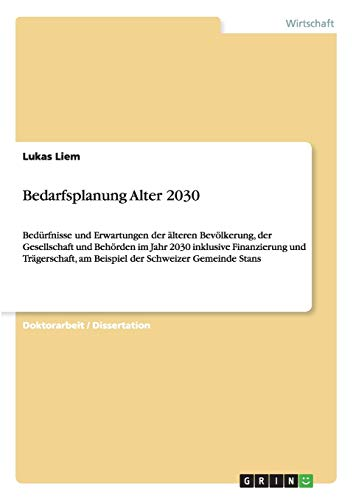 Bedarfsplanung Alter 2030: Lukas Liem
