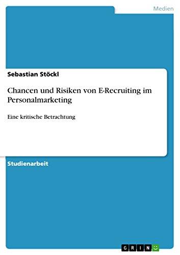 9783668022843: Chancen und Risiken von E-Recruiting im Personalmarketing
