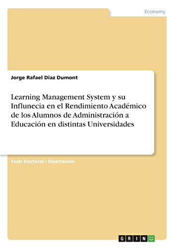 Learning Management System y su Influnecia en el Rendimiento Académico de los Alumnos de ...