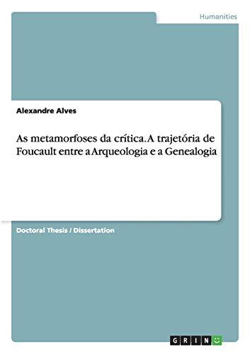 As metamorfoses da critica. A trajetoria de: Alexandre Alves