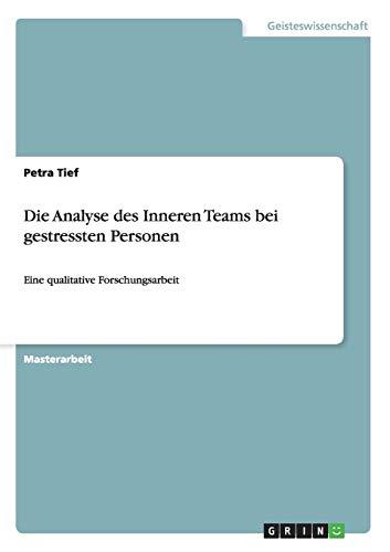 Die Analyse des Inneren Teams bei gestressten Personen: Petra Tief