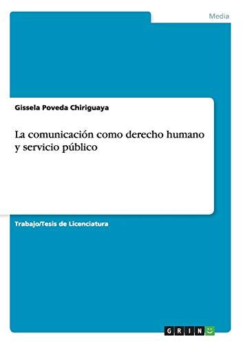 La comunicación como derecho humano y servicio público: Gissela Poveda Chiriguaya