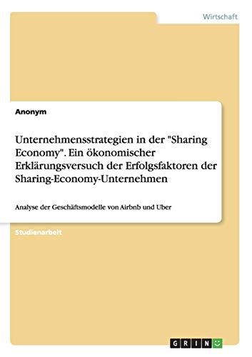 9783668201897: Unternehmensstrategien in Der