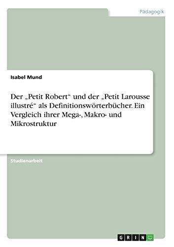 """Der ?Petit Robert"""" und der ?Petit Larousse: Isabel Mund"""